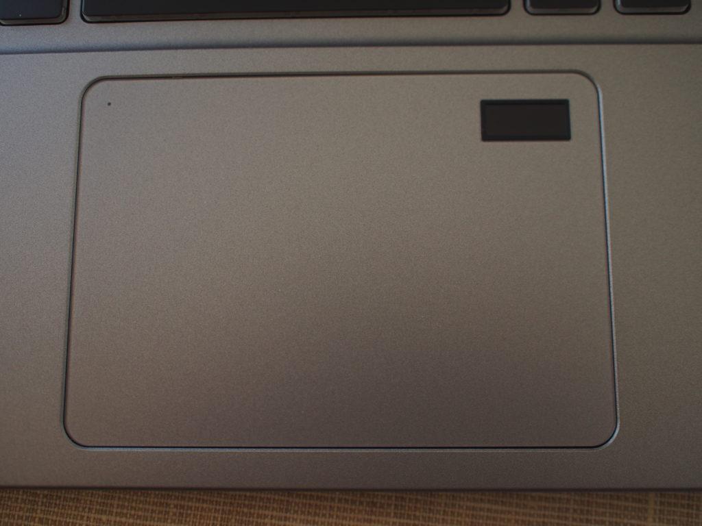 DAIV NG5510 指紋認証付きスライドパッド