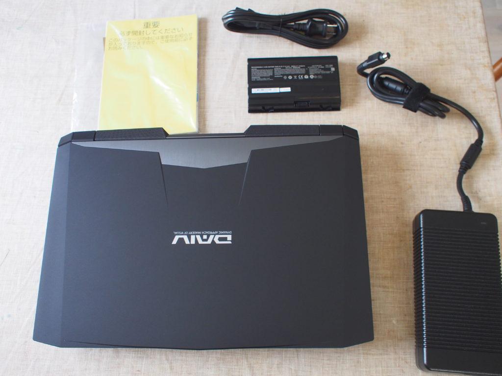 DAIV-NG7700 本体及び添付品