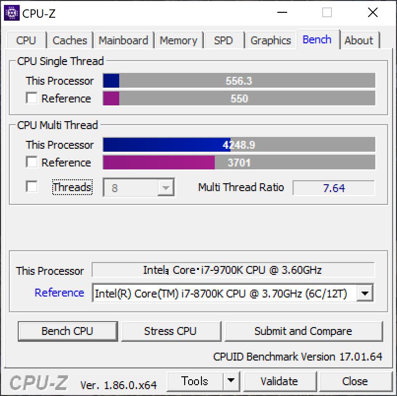 DAIV-NG7700 CPU-Z