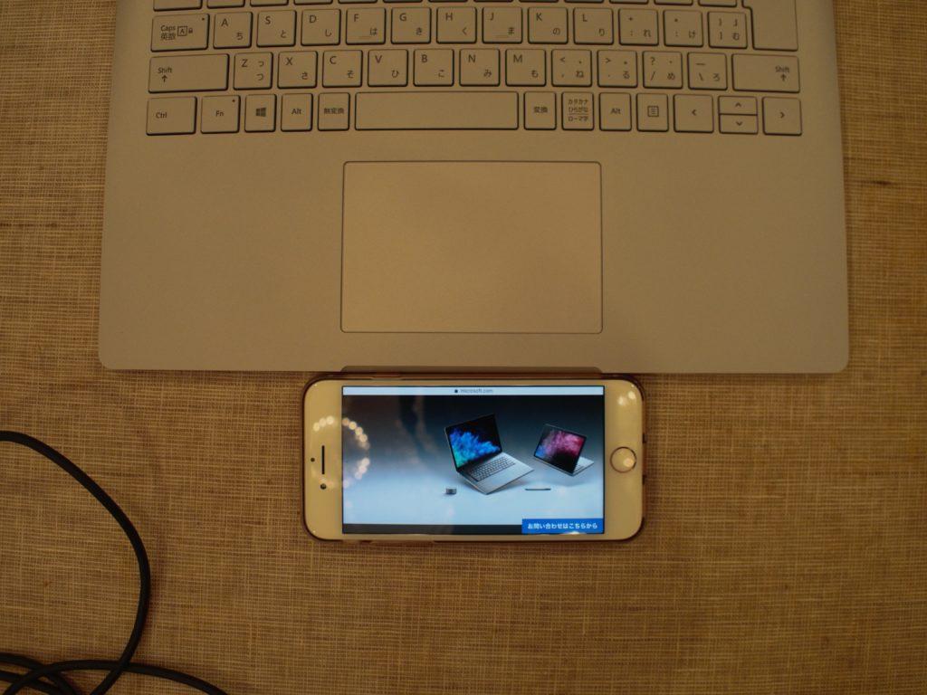 Surface Book 2 スライドパッド
