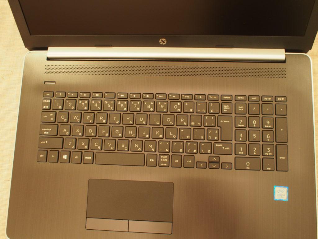HP 17-by0000 スタンダードモデル キーボード