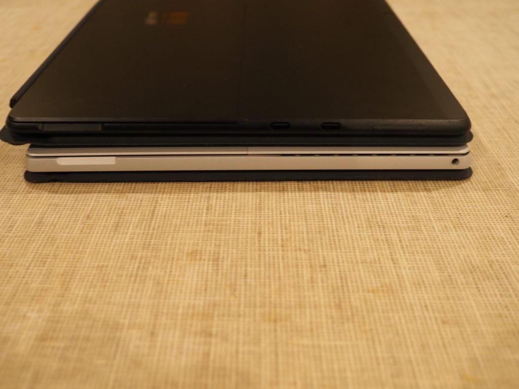 Microsoft Surface Pro X:本体左側