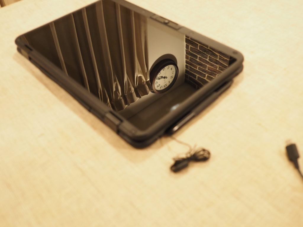 ディスプレイの映り込み:MousePro P116B