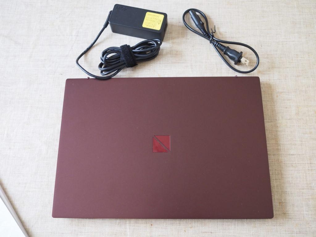 本体及び添付品:NEC LAVIE Direct PM750/NA