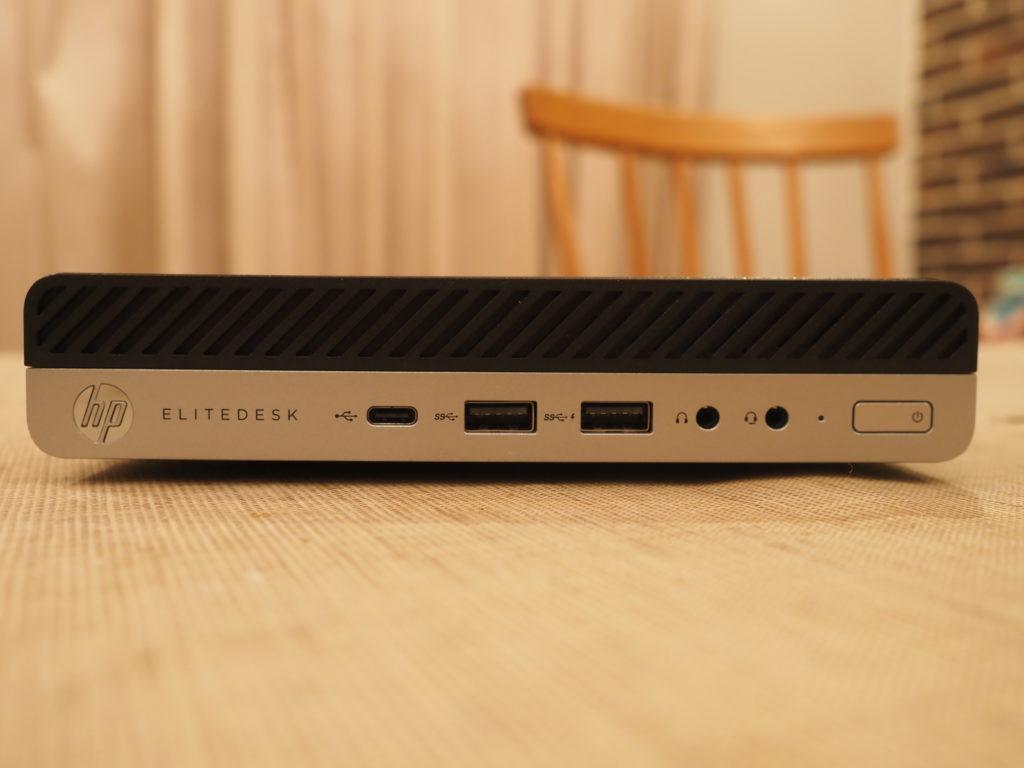本体前面:EliteDesk 800 G5 DM