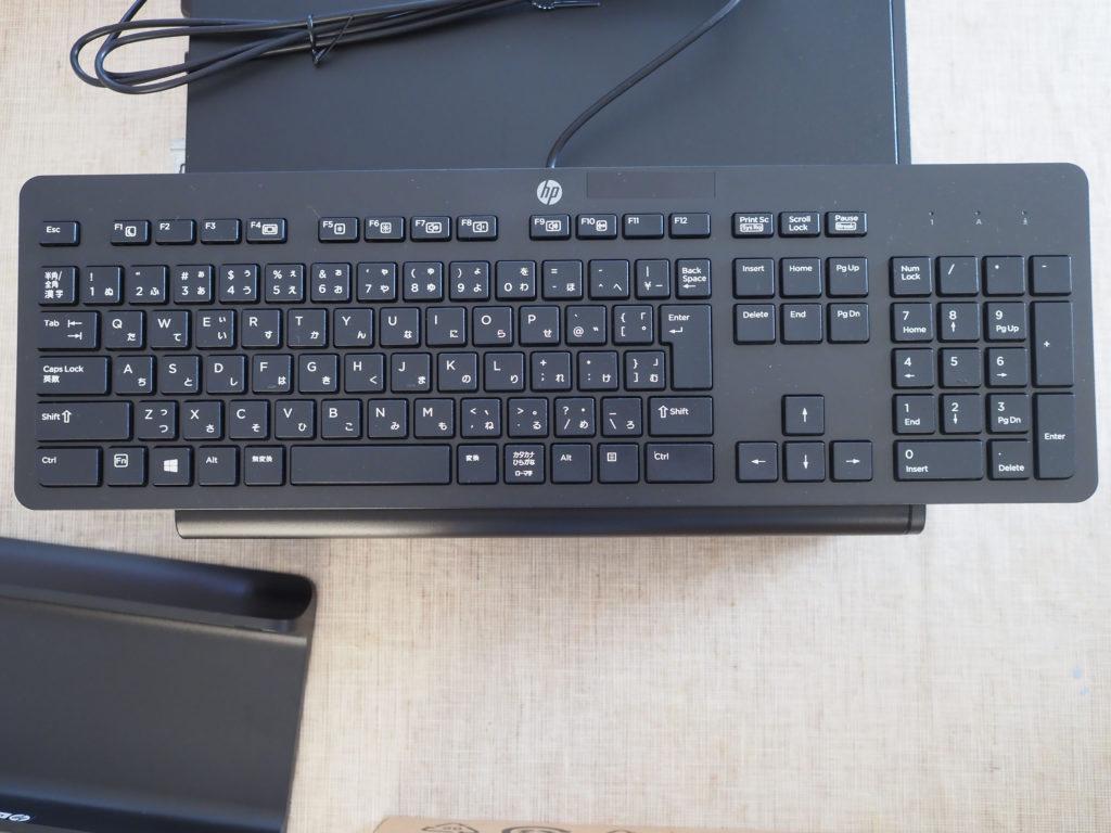 キーボード:HP EliteDesk 800 G5 SF/CT