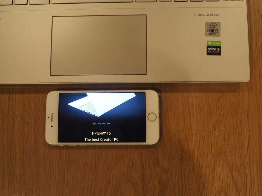 スライドパッド:日本HP ENVY 15-ep0003TX クリエイターモデル