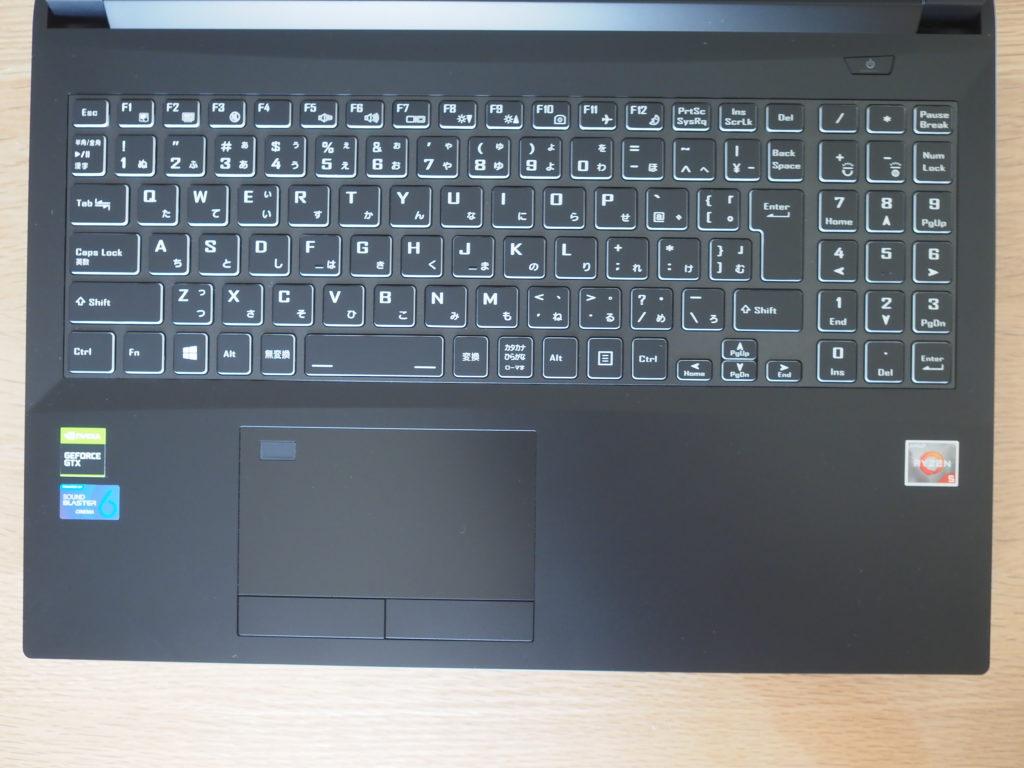 キーボード:DAIV 5D-R5/5D-R7