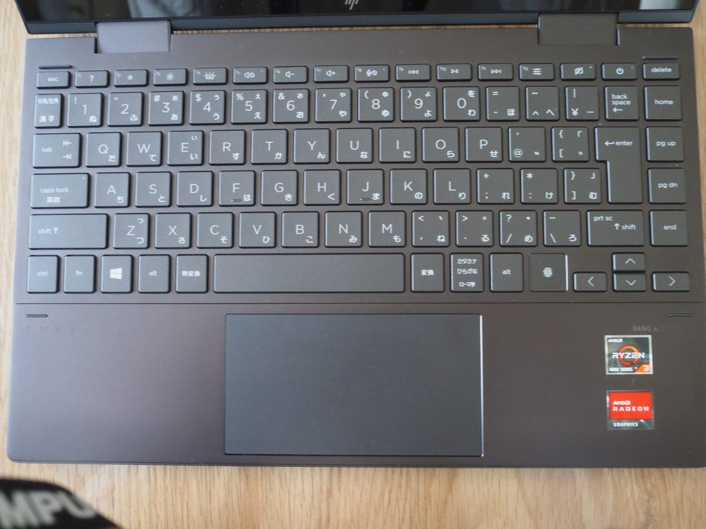 キーボード:ENVY x360 Laptop - 13-ay0047AU