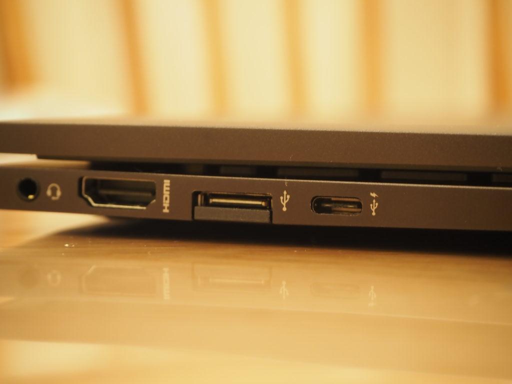 本体左側:ENVY x360 Laptop - 15-ee0020AU