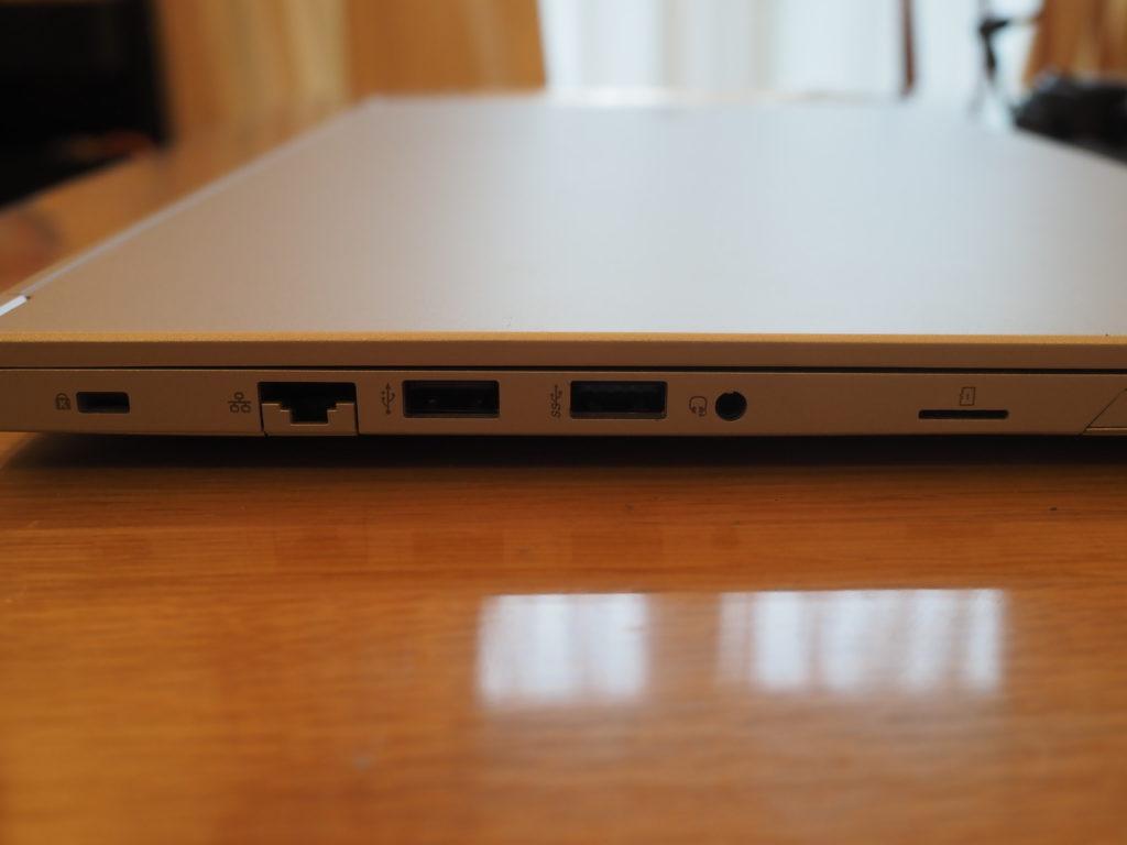 本体左側:DAIV 5P(2020年モデル)
