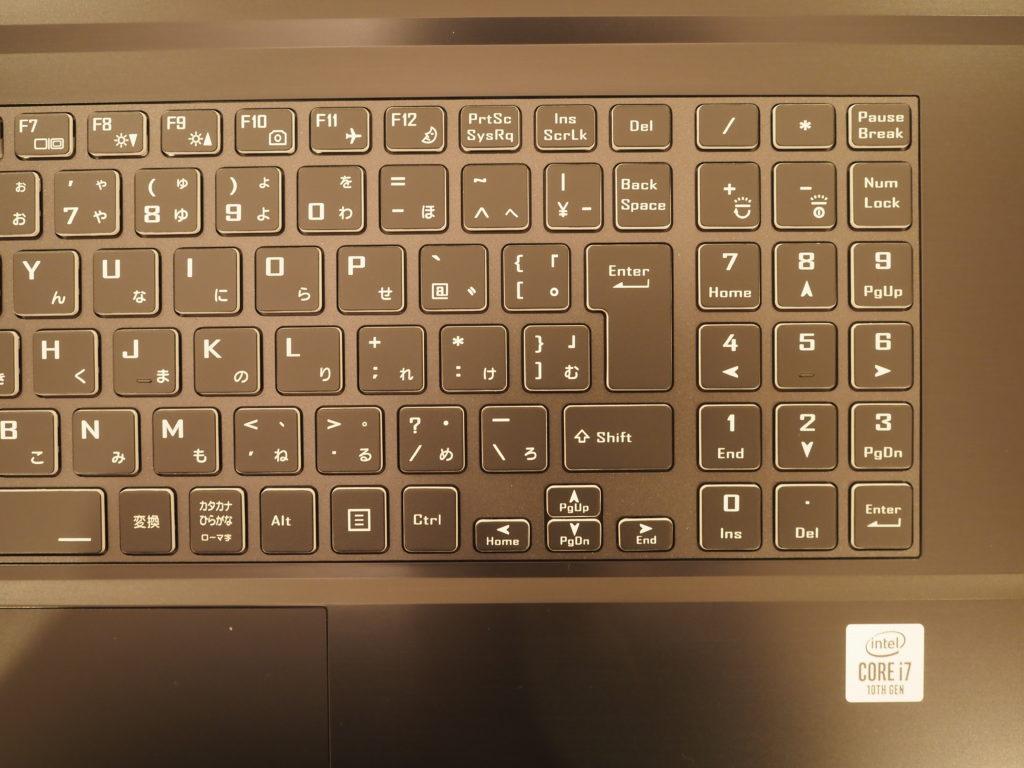 キーボード(拡大):mouse K7