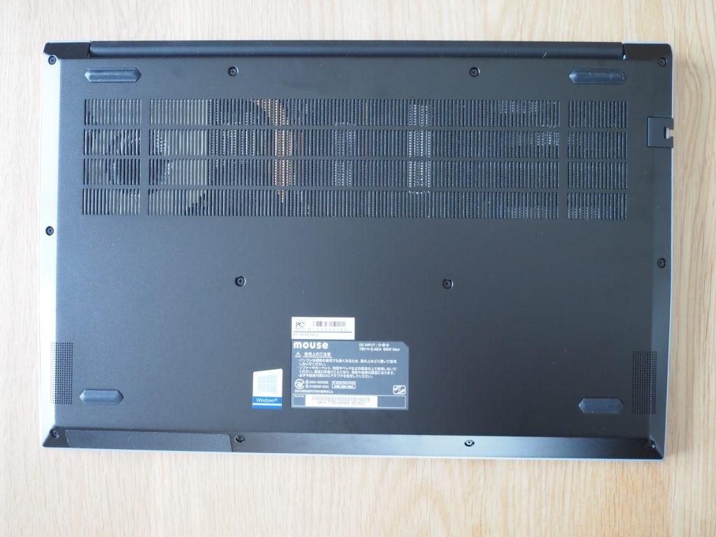本体裏面:mouse B5-R5