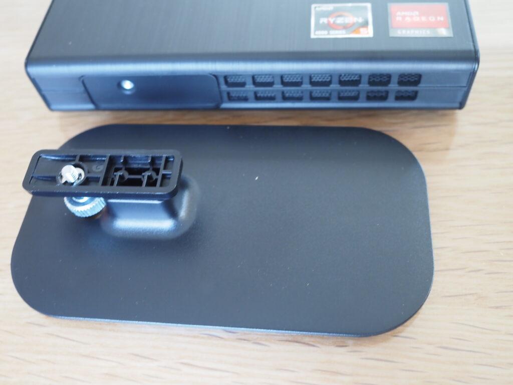 本体とスタンド:mouse CT6