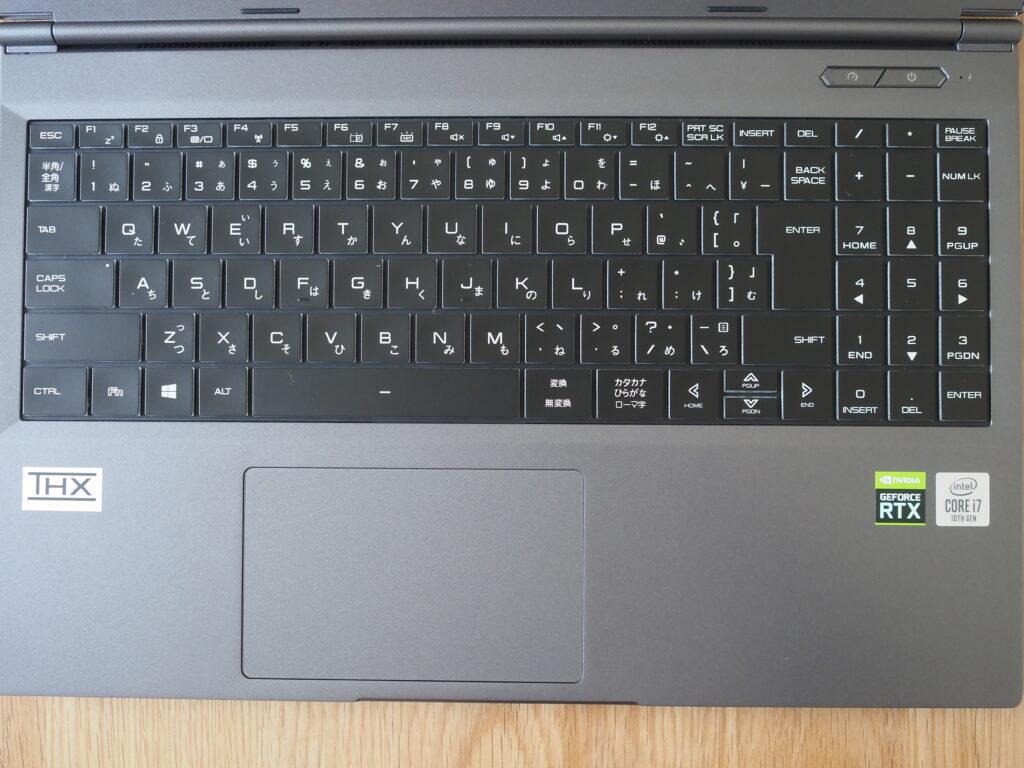 キーボード:DAIV 5N (32GBモデル)