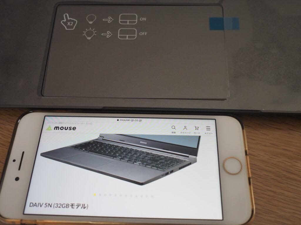 スライドパッド:DAIV 5N (32GBモデル)