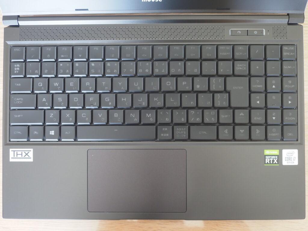 キーボード:G-Tune H5 (32GBモデル)