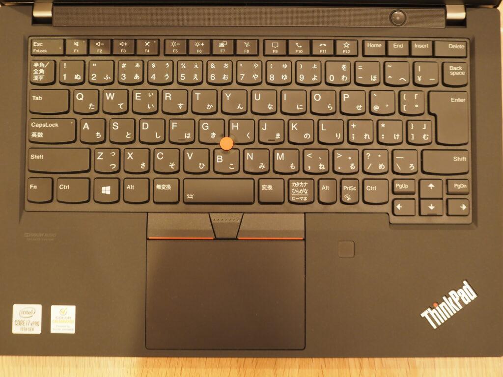 キーボード:Lenovo ThinkPad P14s Gen 1(20S50006JP)